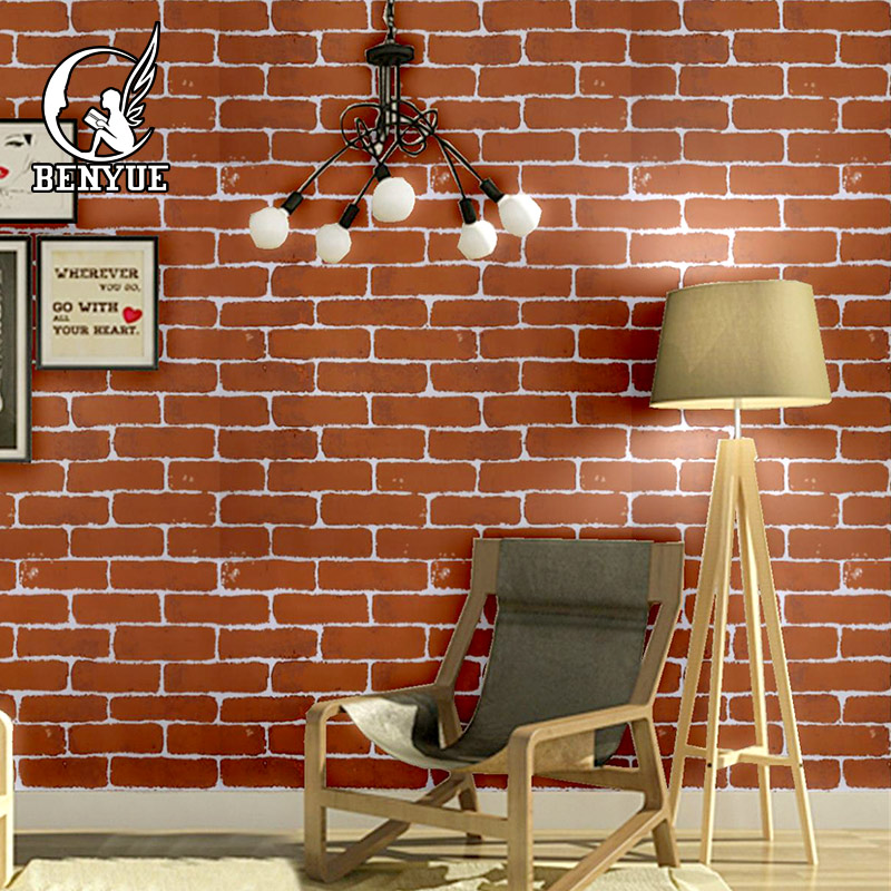 Brick WallPaper 3D Modern 3D Wallpaper for Wall Decor mural wallpaper for living room wall covering home decor 3d wallpaper color wood board modern interior simple decor wall painting kid s room living room backdrop wall mural papel tapiz