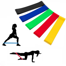50cm Home Fitness Rubber Loop Pilates Modstand Bands Set Gym Styrke Bodybuilding Training Athletic Expander Yoga Expander