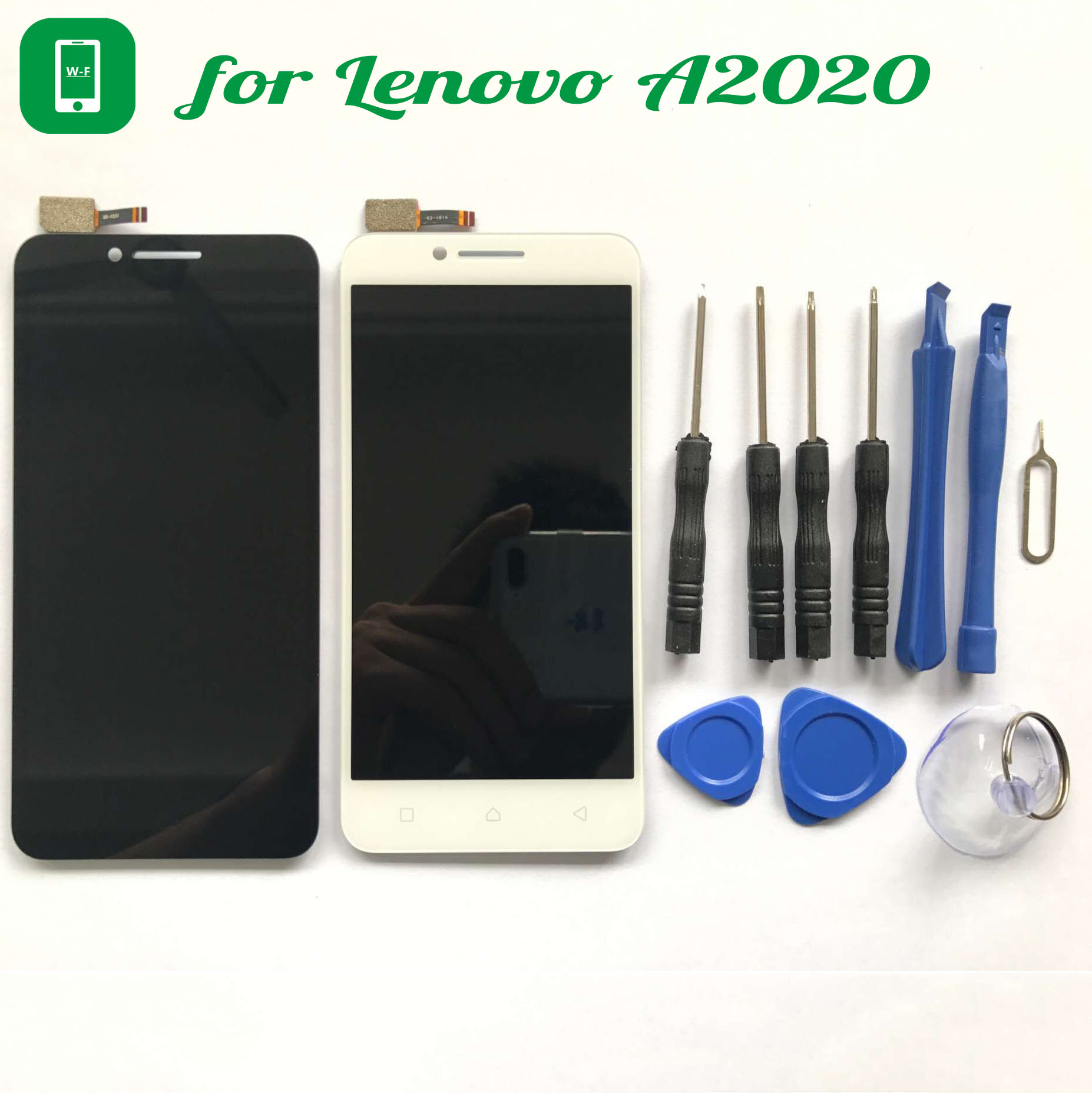 for Lenovo Vibe C A2020 LCD Display+Touch Screen with Tools Glass Panel Digitizer For Lenovo Vibe C A2020 vibe x2 lcd display touch screen panel with frame digitizer accessories for lenovo vibe x2 smartphone white free shipping track