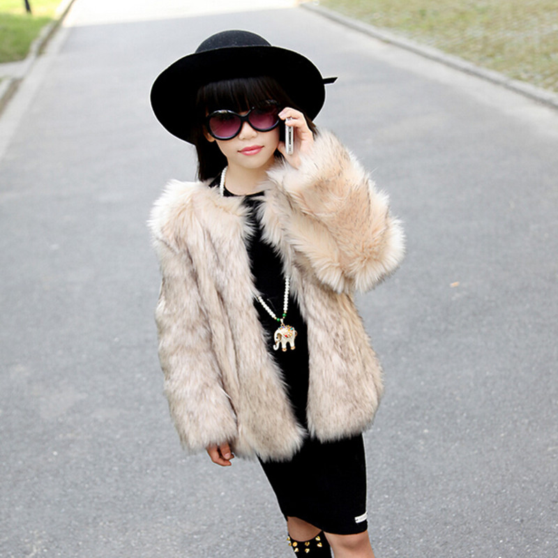 Product Features Looking cool and staying warm is on the cards with this faux fur coat.
