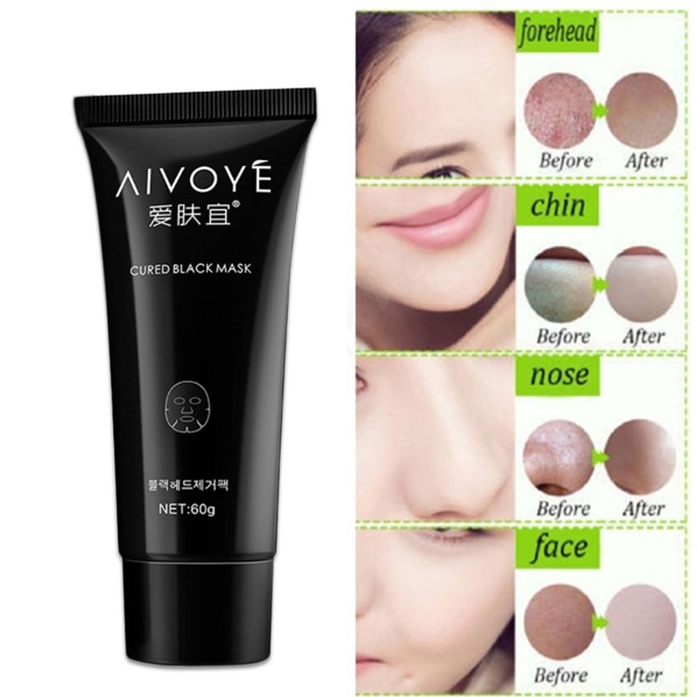 Skin Care Tool 1pcs Deep Cleansing Mud Black Mask Acne Treatments Mask Blackhead Facial Mask New Charcoal Blackhead Removal Face Mask Modern Design