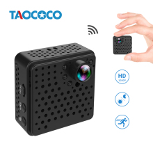TAOCOCO Mini IP Camera WIFI Camera Motion Detection Infrared Security Camera Built-in Battery Portable Surveillance Camera 1080P