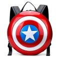Capitão América Moda Mochilas Laptop Famosa Marca de Couro de Alta Qualidade 12 ''Computador Mochila Escolar Marvel the Avengers