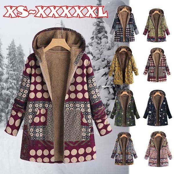 2019 Oversize Women Hooded Long Sleeve Fluffy Fur Fleece Cozy Zipper Coat Outwear S-5XL2019 Oversize Women Hooded Long Sleeve Fluffy Fur Fleece Cozy Zipper Coat Outwear S-5XL