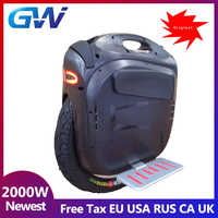 2019 Newest Gotway Msuper X Electric unicycle 1600WH 84V/100V 1230WH Max speed 55km/h+,2000W motor,max 4000W,19inch Freeshipping