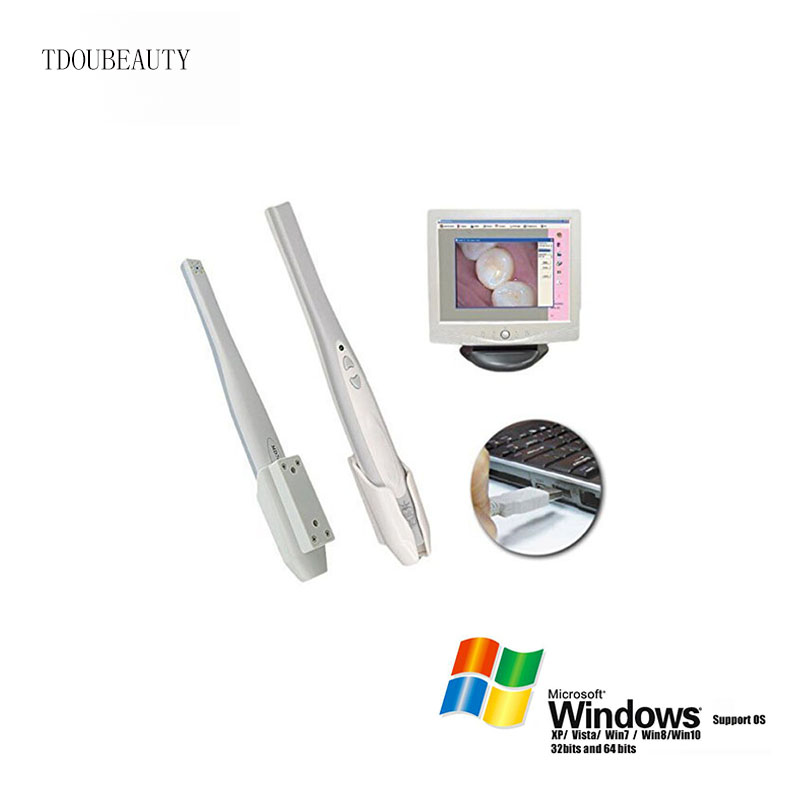 TDOUBEAUTY MD740 USB 1.3 Connection, 6 Led, Max 3.8 Mega Pixels, Intraoral Dental Intra Oral Camera Dentist Imaging Tool