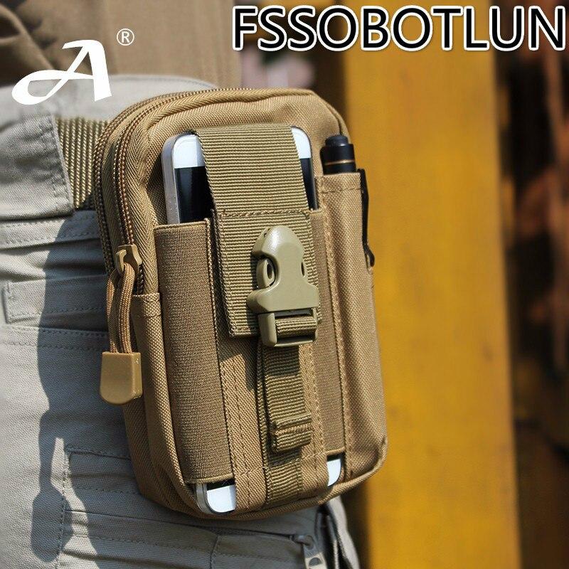 imágenes para Para UHANS U300/S3/AGM X1/A8/NOMU S30/S20/S10 Caso Cubierta Al Aire Libre Pistolera táctica Militar Hip Cinturón de Cintura Bolsas