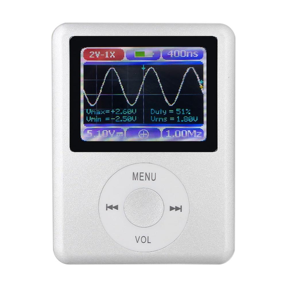 Oscilloscope De Poche Mini Poche Portable Ultra-petit Numérique Oscilloscope 1 m Bande Passante 5 m Taux D'échantillonnage Numérique Oscilloscope