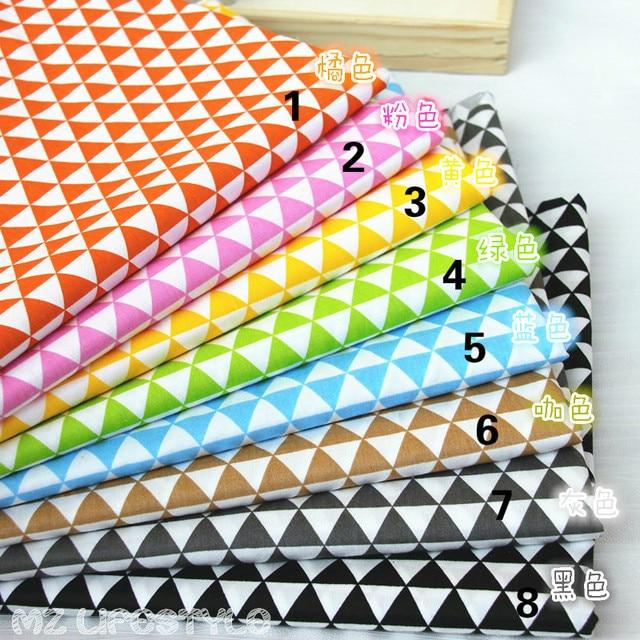Buulqo 50160cm 100 Pure Cotton Twill Fabric Pattern Diy Handmade