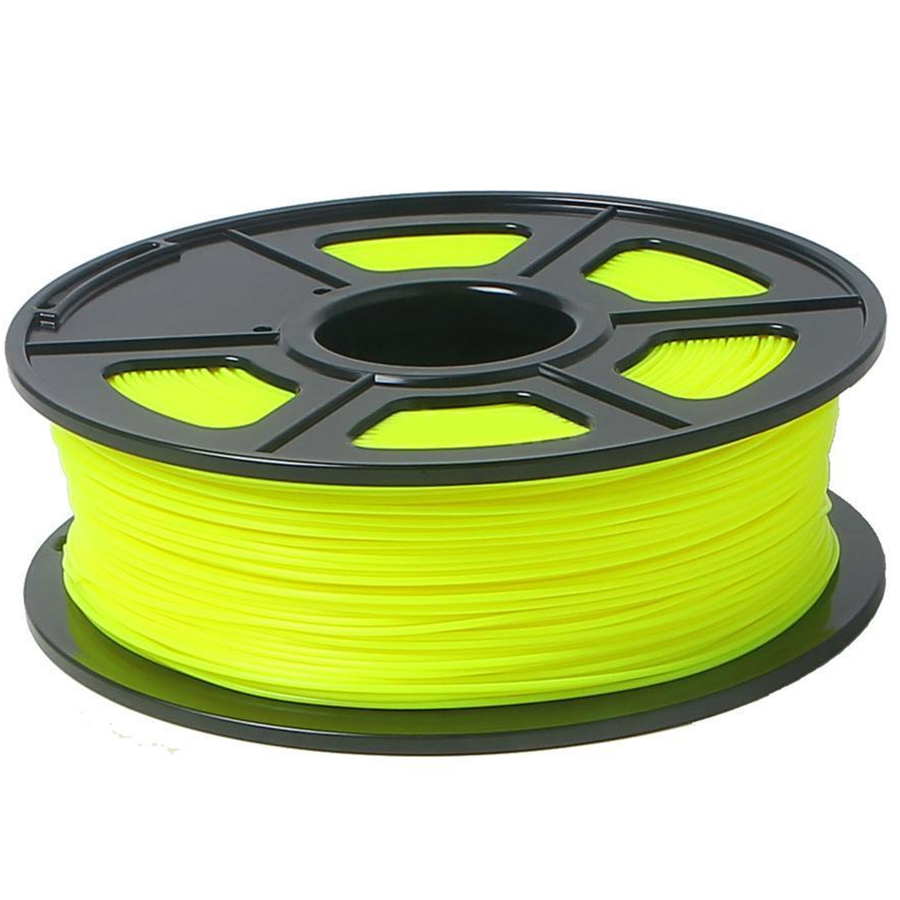 3D Printer Filament 1kg/2.2lb 3mm ABS Plastic for RepRap Mendel yellow 3d printer parts filament for makerbot reprap up mendel 1 rolls filament pla 1 75mm 1kg consumables material for anet 3d printer