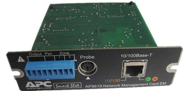 APC AP9619 UPS Güç Ağ Kontrol Kartı UPS Izleme Kartı AP9619