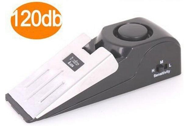 Système darrêt de porte 120 dB   1 pièce, sécurité maison, bouchon darrêt de porte, bloc dalarme, système de blocage