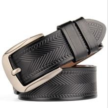 Handmade Leather Belt – Black / Dark Brown