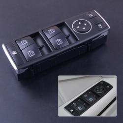 Wysokiej jakości 3 Pin po stronie kierowcy przedni drzwi elektryczne okno przełącznik czarny pasuje do Mercedes Benz C klasa E GLK A2049055302 w Przełączniki i przekaźniki samochodowe od Samochody i motocykle na