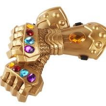 Thanos Infinity Gauntlet Avengers Infinity War Thanos Glove Cosplay Superhero Avengers Thanos Glove Halloween Props