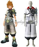 Japanese Anime Outfit Kingdom Hearts Birth By Sleep Ventus Cosplay Costume E001