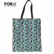 Forudesigns Brand Designer Women Handbags Tote Shoulder Bags For Las Cheeky Ferrets Pattern S Mochial