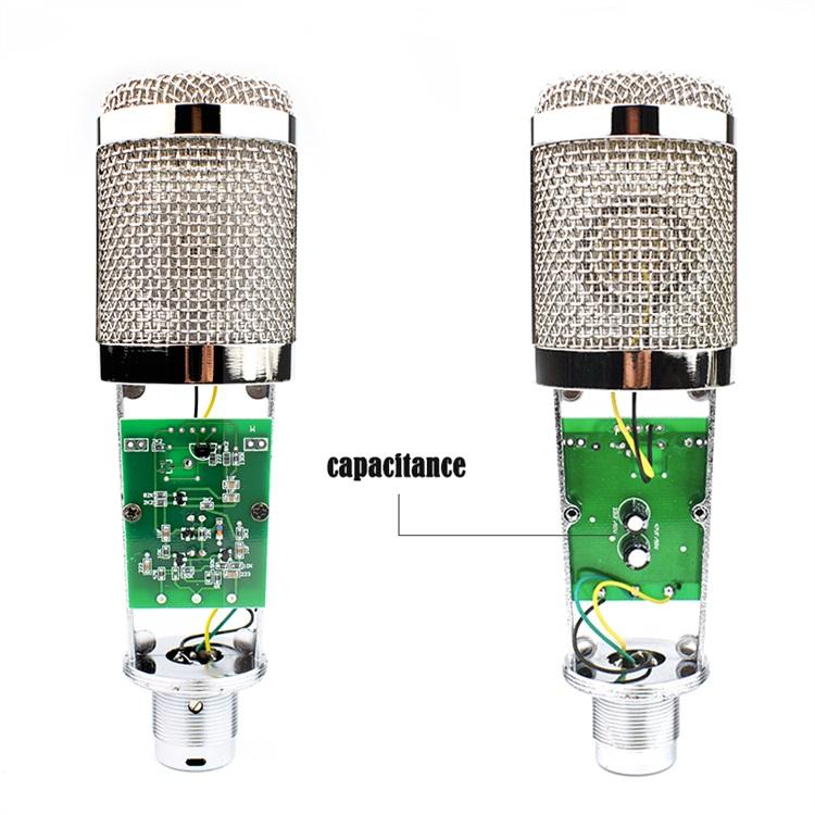 Professional BM-800 BM 800 Condenser KTV Microphone Cardioid Pro Audio Studio Vocal Recording Mic KTV Karaoke+ Metal Shock Mount 2