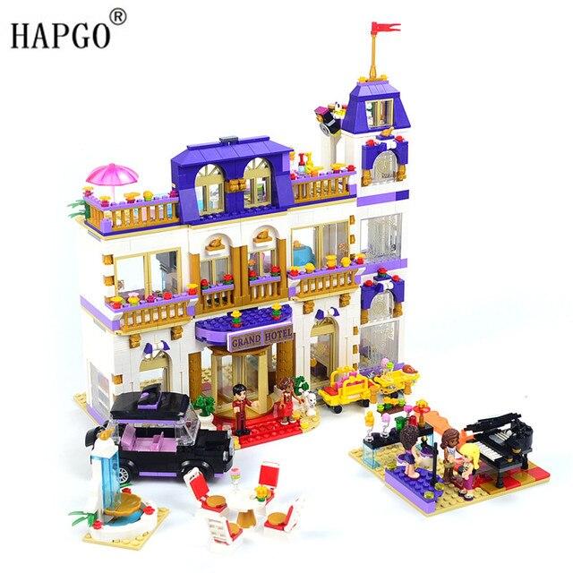 1676 Pcs Amigos Série Heratlake Grand Hotel Compatível Legoingly Amigos Heartlake Grand Hotel 41101 Brinquedos Para 8 12 Meninas Presentes Blocos Aliexpress