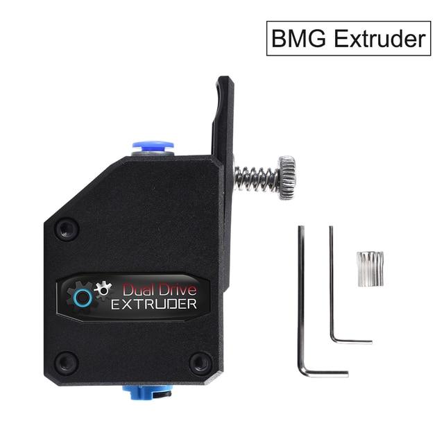 Kualitas Tinggi Bmg Extruder Kloning Btech Bowden Extruder Drive Ganda Extruder 3D Bagian Printer untuk Creality CR10 Ender 3 Anet e10