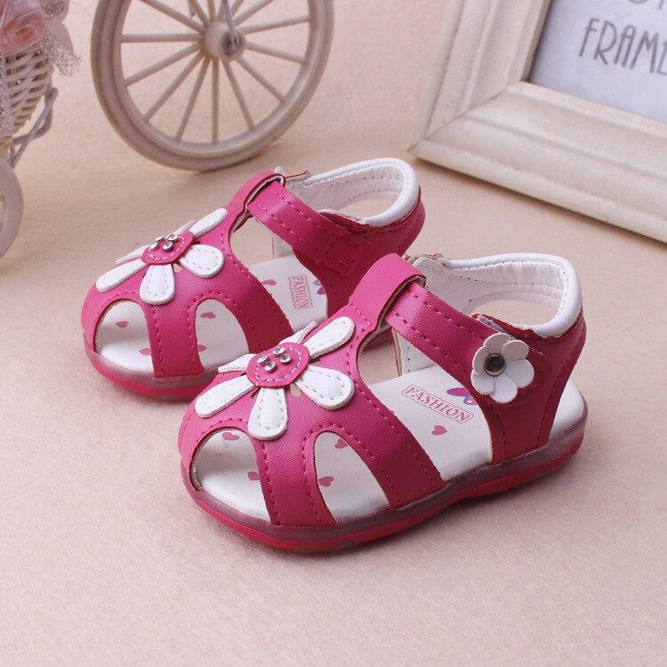 Fleurs chaussures bébé fille sandales enfants oe1sg0GA