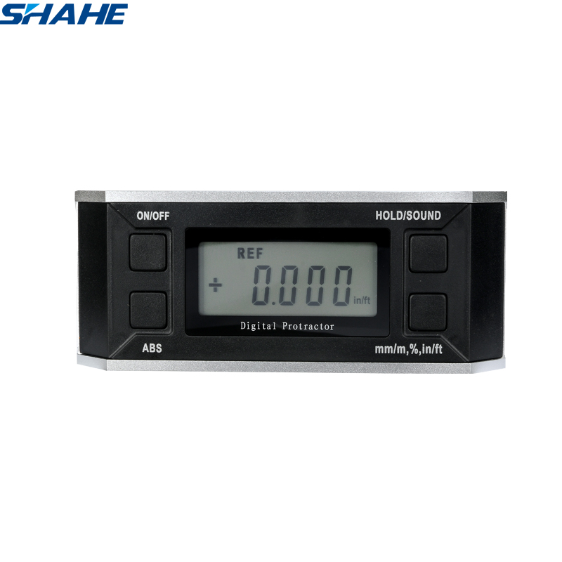 Digital Protractor Electronic Protractor inclinometer with magnet illuminate Level Angle Gauge Level Box Inclinometer 5340 90