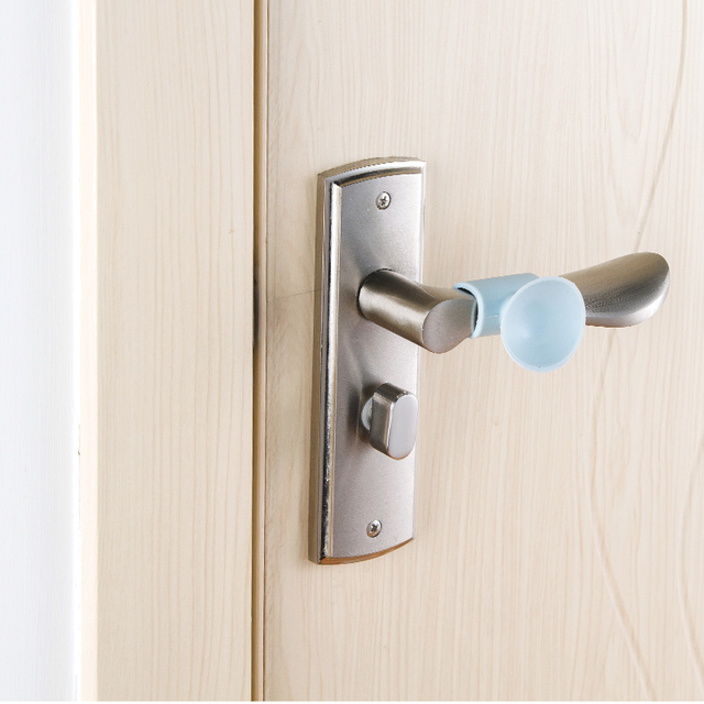 1pcs Silicone Door Handle Knob Crash Pad Wall Protectors