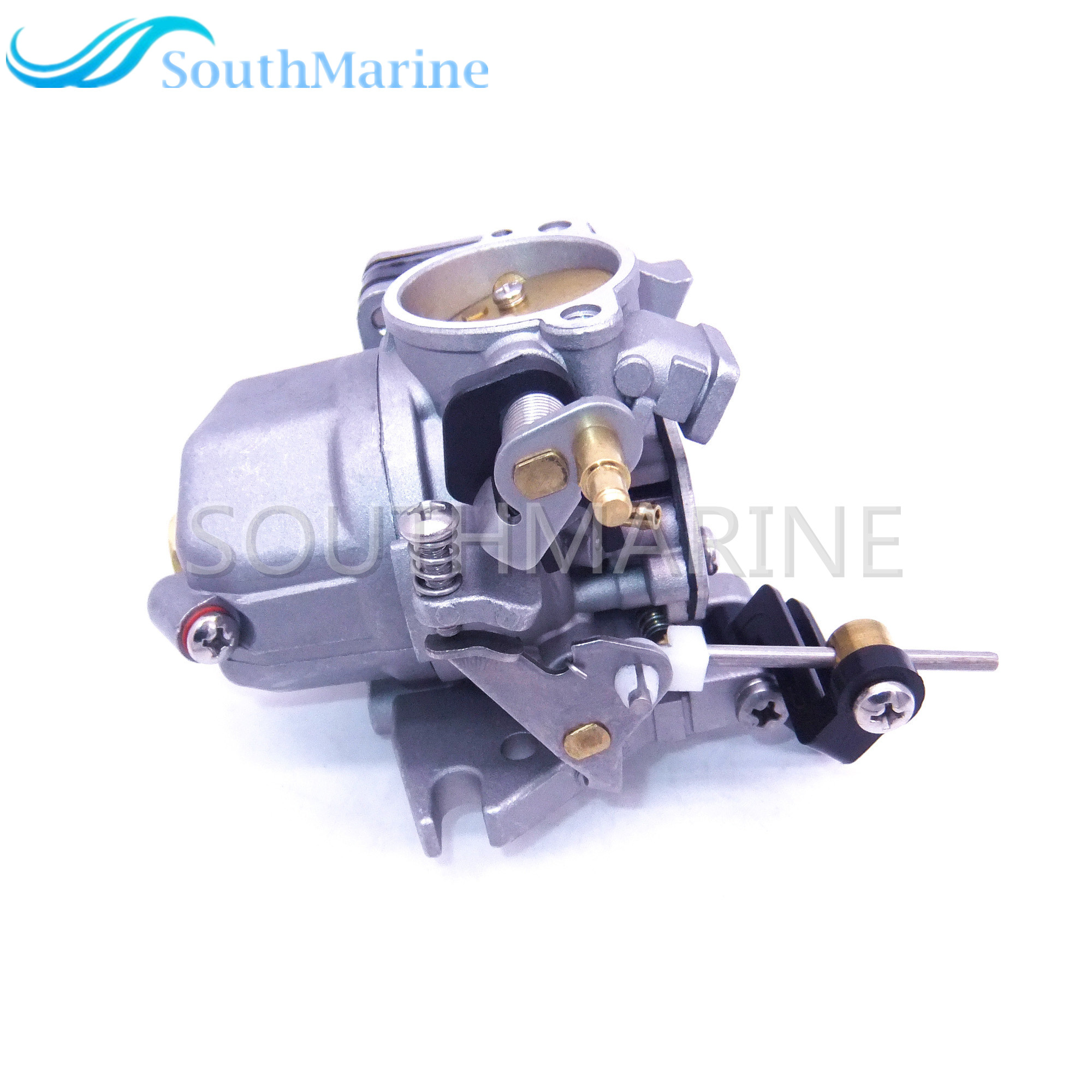 Outboard Motor 684-14301 6E8-14301-05 6E7-14301 Carburetor Carb assy for Yamaha 2-stroke 9.9hp 15hp Boat Engines boat motor t85 04000005 reverse gear for parsun outboard engine 2 stroke t75 t85 t90 free shipping