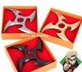 1 Pcs Nova Rotatória Shuriken Naruto Cosplay Arma Ferramentas 12 cm
