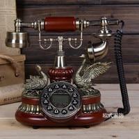 Genuine new European antique landline phone special offer retro home telephone Decoration home art rustic phone household