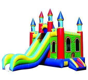 PVC large inflatable font b bouncer b font slides for sale indoor playground equipment