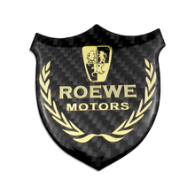 цена на Vehicle Logo Decals And Stickers Badge Emblem Door Protector For Roewe 350 550 750 950 360 RX5 E550 E50 W5