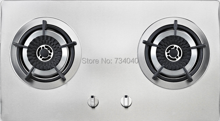 Lpg Stainless Steel 2 Burner Gas Stove Kitchen Liance Cooker Two Double In Cooktops From Home Liances On Aliexpress