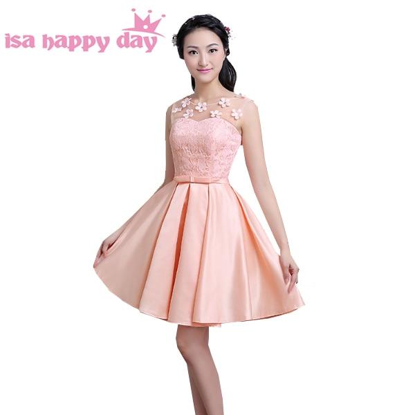 4e4155a285a short peach colored brides maid seath dresses sexy party bridal dress woman  bridesmaid formal dresses robe de soiree 2017 H3896