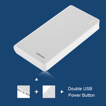 power bank 13000mAh Portable Dual USB Emergency Super Charger External Battery PowerBank for iPhone 6 for Samsung Tablet