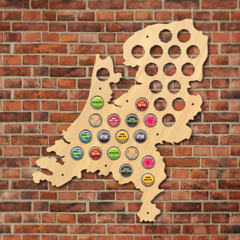 1Piece Netherlands Beer Cap Map Map Of Holland Beer Bottle Cap ...