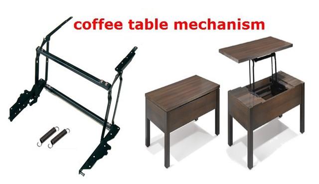 Levante mecanismo de mesa de café, mesa de muebles de hardware
