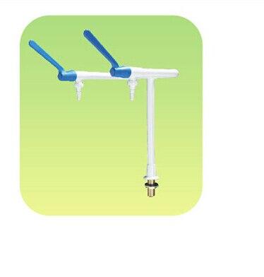 B2008 dual-mouth desktop elbow faucet