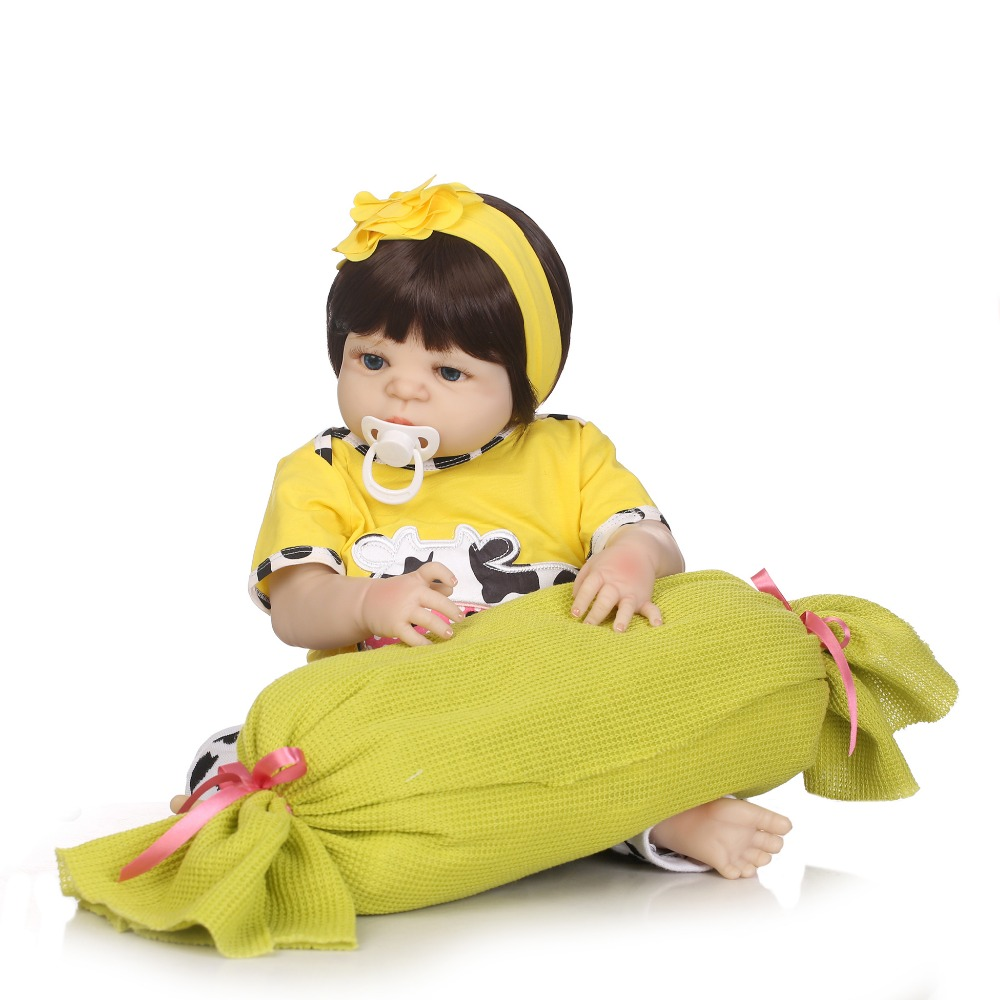 NPK จริง 57 ซม. ซิลิโคน Reborn ทารกตุ๊กตาของเล่นเด็กแรกเกิดตุ๊กตาเจ้าหญิง Bonecas Bebe reborn Menina-ใน ตุ๊กตา จาก ของเล่นและงานอดิเรก บน   2