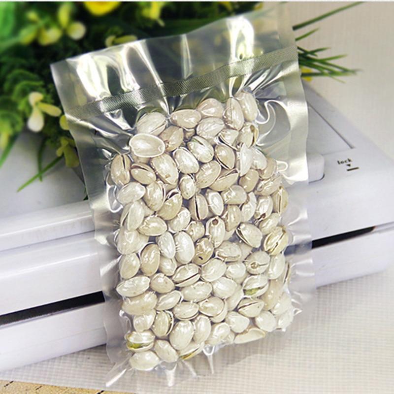 25pcs/lot 15*25cm Food Grade Vacuum Food Sealers Bag Packaging Bag For Nut Fruit Meat Vegetable Sealing