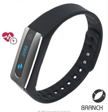 New arrival NFC Bluetooth 4 Smart band bracelet Heart Rate Monitor IP67 waterproof sleep tracker Wristband for IOS Android phone