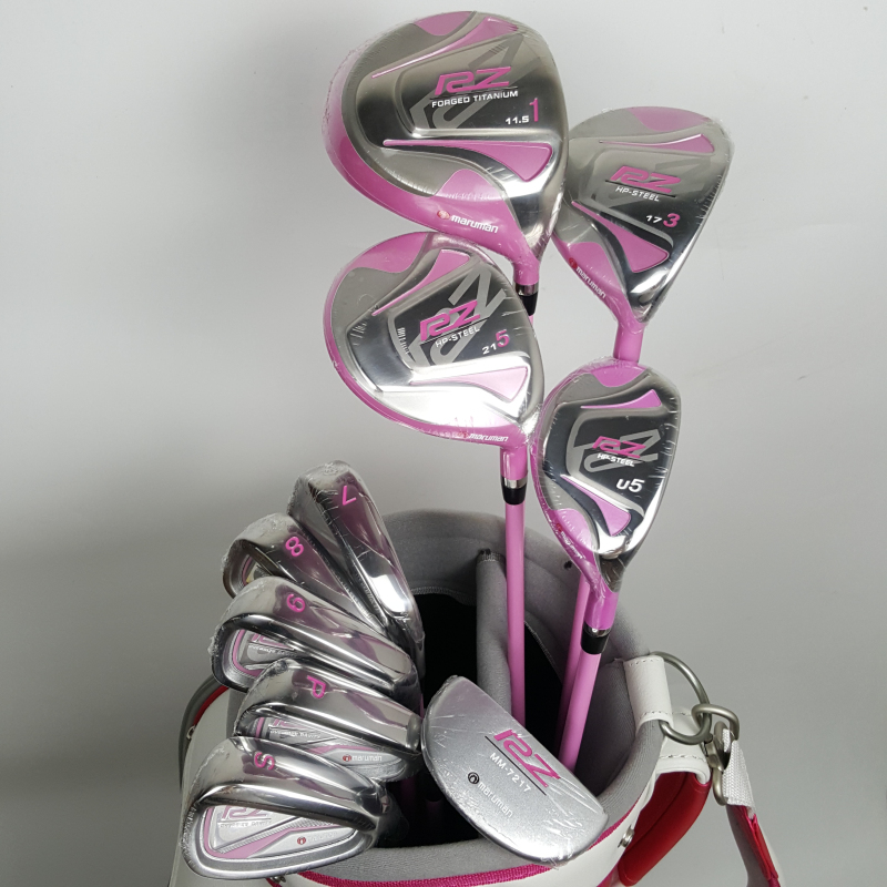 Womens Golf Clubs Maruman RZ complete clubs set Drive+fairway wood+irons Graphite Golf shaft and cover No ball packs golf clubs honma bezeal525 compelete club sets driver 3 5 fairway wood irons putter and graphite golf shaft no ball packs