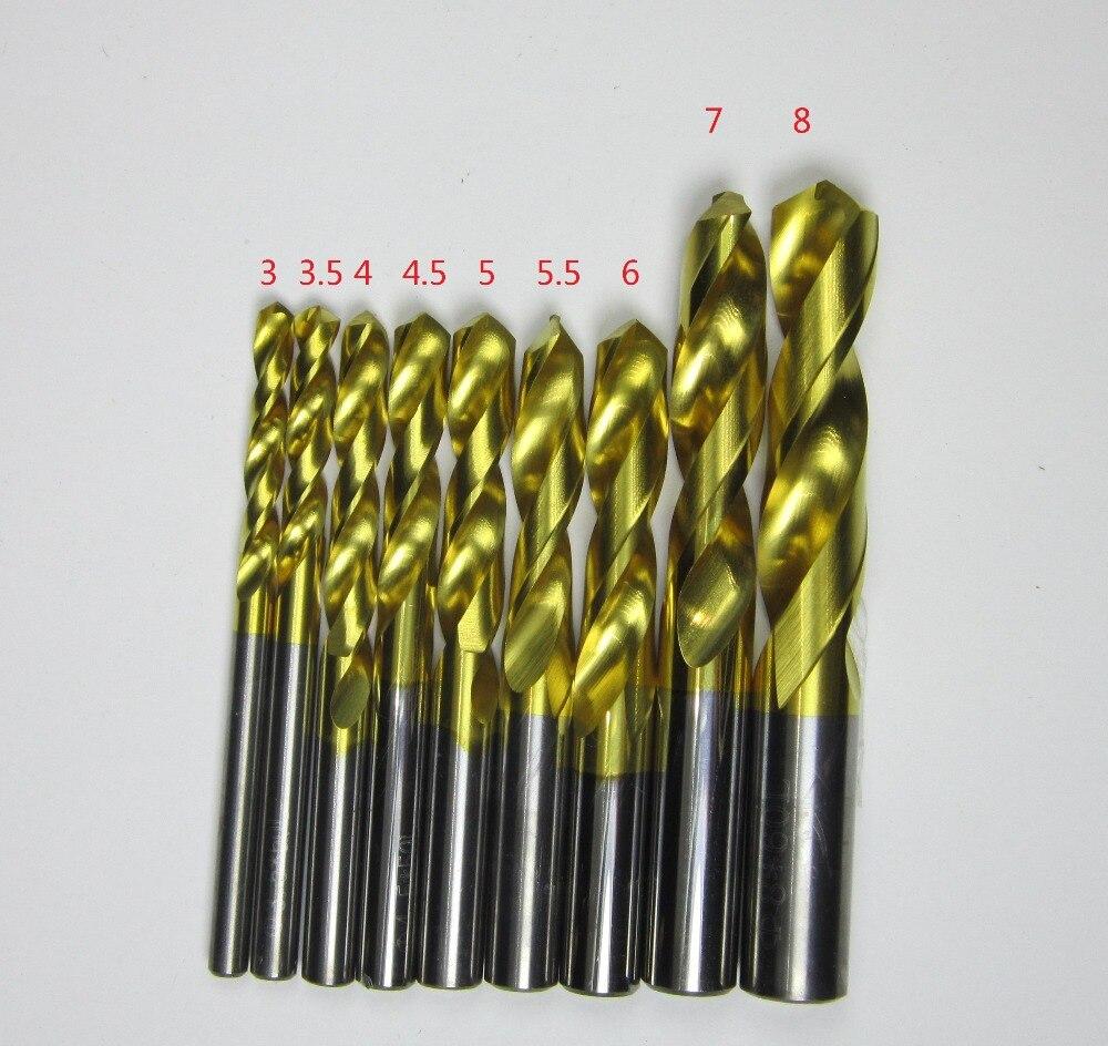 wholesale 9PCS 3MM 3 5MM 4MM 4 5MM 5MM 5 5MM 6mm 7mm 8MM Tungsten carbide