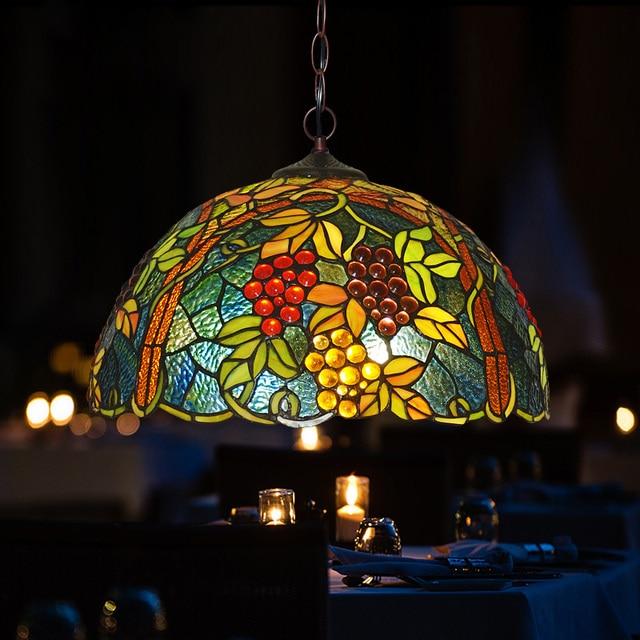 Hauty tiffany lamp chandelier lamp bar and restaurant complex hauty tiffany lamp chandelier lamp bar and restaurant complex classic grape color glass chandelier balcony aloadofball Gallery