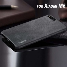 MI6 чехол X-уровень Роскошный старинный искусственная кожа телефон чехол для Xiaomi M6 обложка чехол для Xiaomi 6 5.15 дюймов