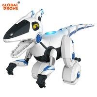 Глобальный Дрон пульт дистанционного управления динозавр жест зондирования RC Dinosours робот подарок на день рождения Рождественский подарок