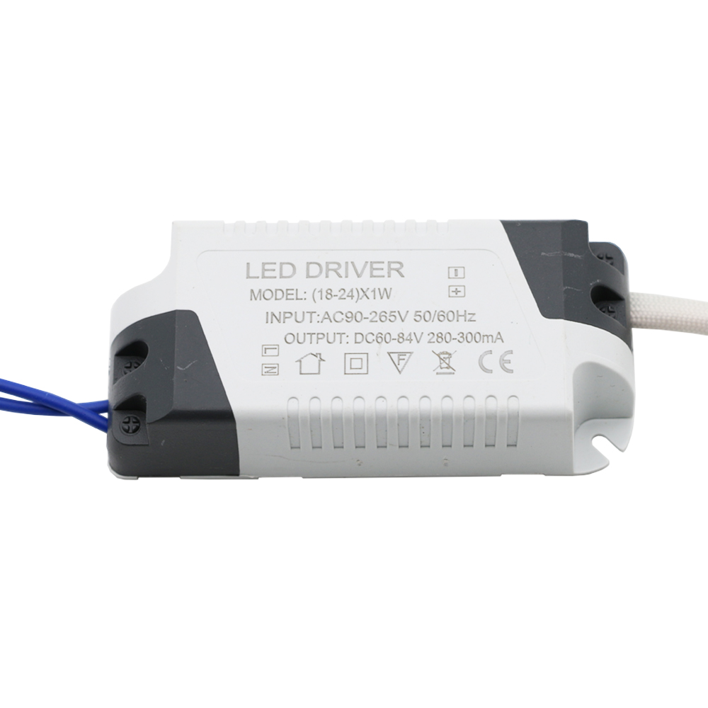 LED External Driver 300mA (18-24)x1W DC 60V ~ 84V Led Driver 18W 20W 21W 22W 23W 24W Power Supply AC 110V 220V for LED lights цены