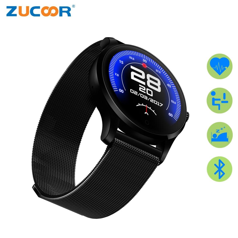 ZUCOOR Smart Watch Relogios Heart Rate Relogio Men Watches RW24 Smartphone Reloj Inteligente Sport Girls Wrist Women's Pedometer f2 smart watch accurate heart rate