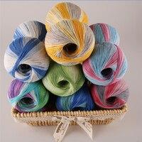 250g Cotton Lace For Hand Knitting Sale Needlework Eco Friendly Space Dyed Summer Dress Coat Crochet Thread garen om te haken