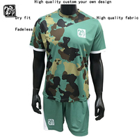 Men and children sublimated customize blank soccer jersey wholesale football team uniform soccer uniform